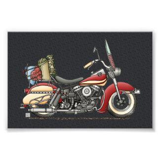 Motocicleta linda fotografía
