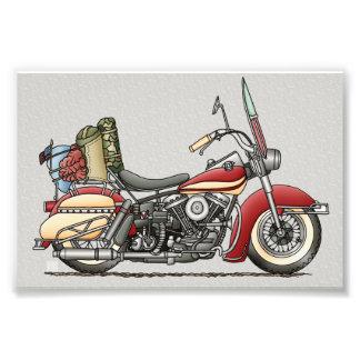 Motocicleta linda fotografías