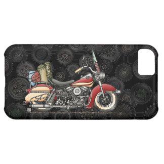 Motocicleta linda funda para iPhone 5C