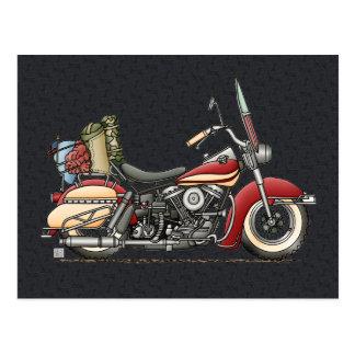 Motocicleta linda postales
