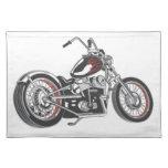 Motocicleta Mantel Individual