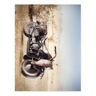 Motocicleta militar postal