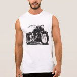 Motocicleta negra de Harley Camisetas Sin Mangas