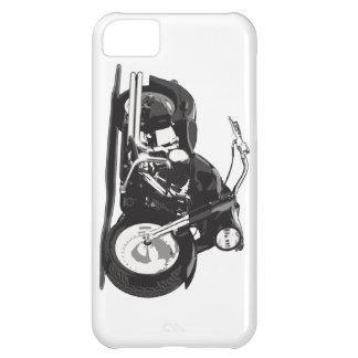 Motocicleta negra de Harley Funda Para iPhone 5C