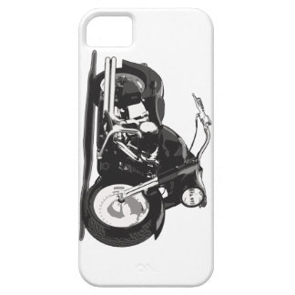 Motocicleta negra de Harley iPhone 5 Carcasa