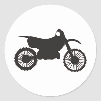 Motocicleta Pegatinas Redondas