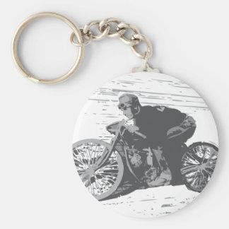 Motocicleta Racer#3 de la pista del tablero del vi Llavero