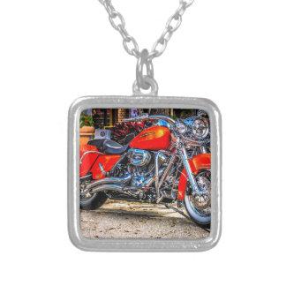Motocicleta roja de encargo del cerdo grimpola personalizada