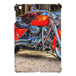 Motocicleta roja de encargo del cerdo iPad mini carcasa