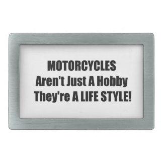 Motocicletas Arent apenas una afición Theyre una f Hebilla De Cinturón