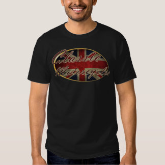 Motocicletas clásicas BRITÁNICAS Camisas