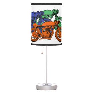 Motocicletas coloridas del arte pop 4
