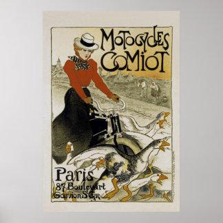 Motocicletas Comiot Poster