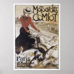 Motocicletas Comiot París Posters