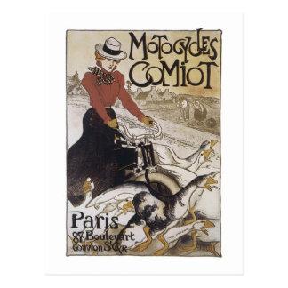 Motocicletas Comiot París Postales