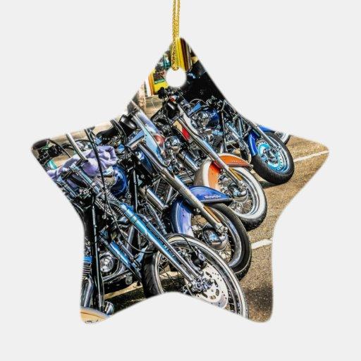 Motocicletas de Harley Davidson Adorno De Navidad