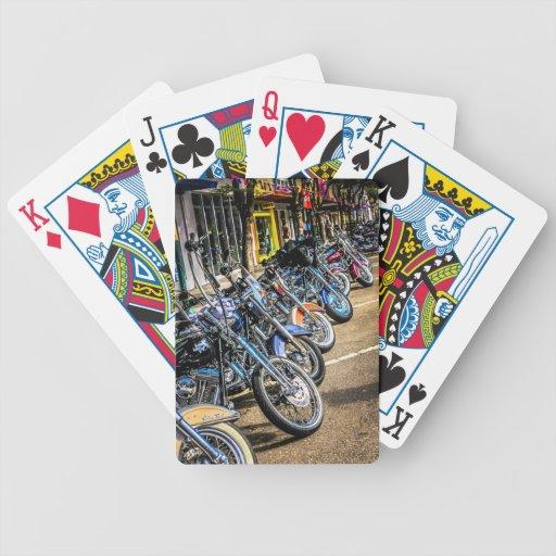 Motocicletas de Harley Davidson Baraja Cartas De Poker