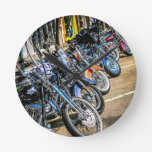 Motocicletas de Harley Davidson Reloj