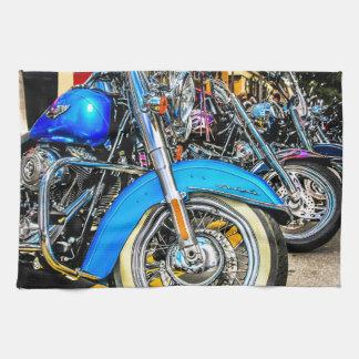 Motocicletas de Harley Davidson Toallas De Cocina