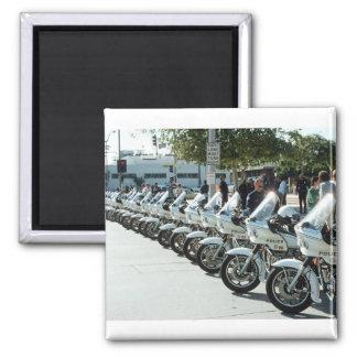 Motocicletas de la policía imán