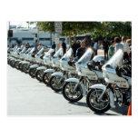 Motocicletas de la policía postal