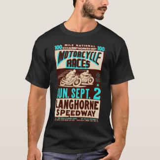 """""""Motocicletas de Langhorne"""" por la persona que Playera"""