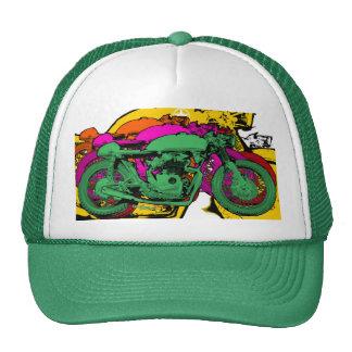 Motocicletas del arte pop del estilo gorro de camionero