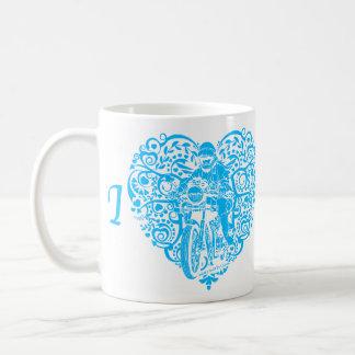 Motocicletas del corazón I Tazas De Café
