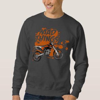 Motocicletas enojadas suéter