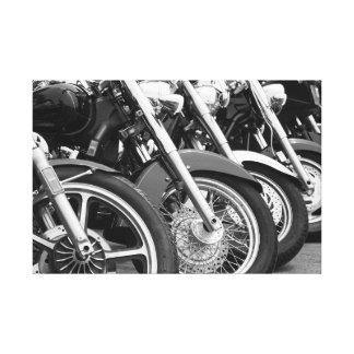 Motocicletas I Lienzo Envuelto Para Galerias