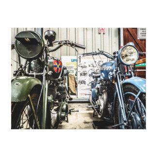 Motocicletas Lona Estirada Galerías