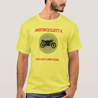 motocicletta (MOTORCYCLE) racing vintage T-Shirt