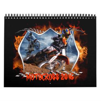 Motocrós 2016 calendarios de pared