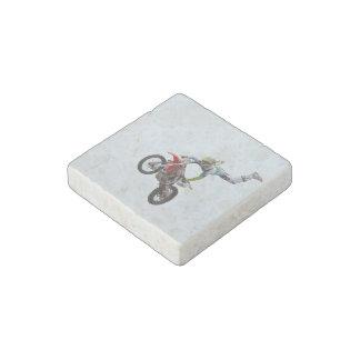 Motocrós del estilo libre imán de piedra