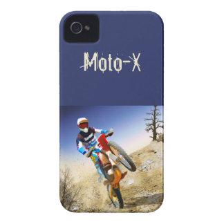 Motocrós del Wheelie del desierto Case-Mate iPhone 4 Carcasas