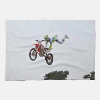 Motocrós extremo toallas