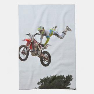 Motocrós extremo toalla