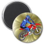 Motocross 202 fridge magnets