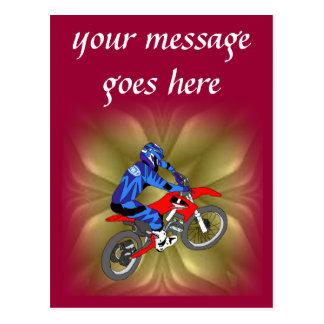 Motocross 202 postcard