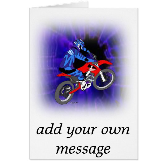 Motocross 203 card