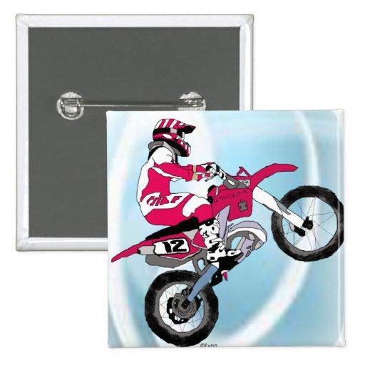Motocross 305 button
