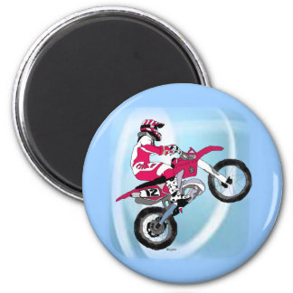 Motocross 305 2 inch round magnet