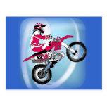 Motocross 305 postcard