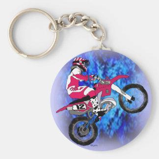 Motocross 306 keychain