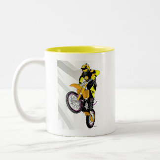 Motocross 401 Two-Tone coffee mug