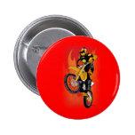 Motocross 403 2 inch round button