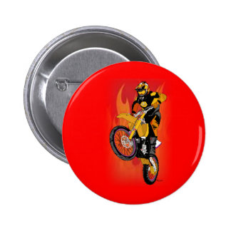 Motocross 403 pinback button