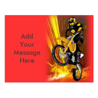 Motocross 404 post cards