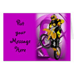 Motocross 405 greeting cards