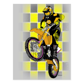 Motocross 407 post cards